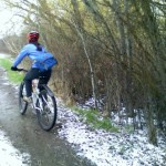 Mud riding with Mimi around Bozeman's bike trails