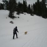 Erika & Cassidy exploring Hyalite Canyon