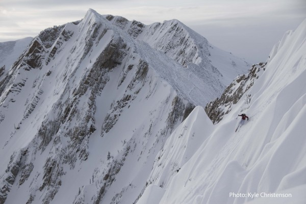 Myself on the Hollywood Headwall